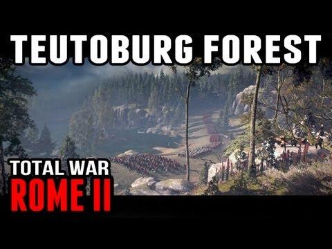 Rome II: Total War - Teutoburg Forest (Alpha Gameplay) |