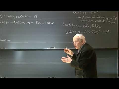 How to modify the Langlands' dual group - Joseph Bernstein