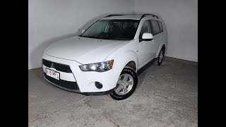 (SOLD) 4 Cyl SUV Mitsubishi Outlander 5 Speed Manual 2011 Review