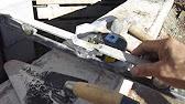 Укладка полнотелых цементно песчанных блоков - YouTube