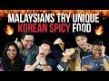 Malaysians Try Unique Korean Spicy Food | Presented By Domino's