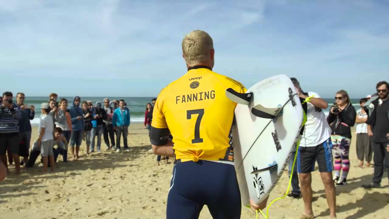 World Surf League à Hossegor : highlights du 10 octobre 2015