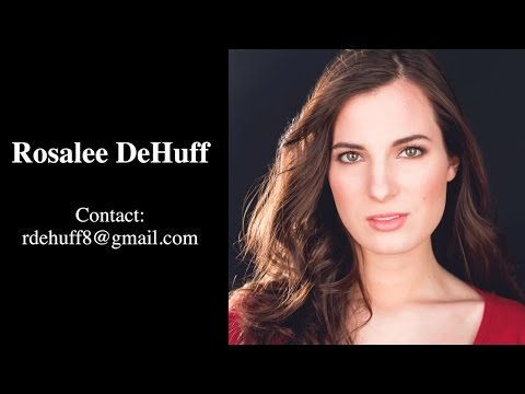 Rosalee DeHuff Acting Monologues  Clea from The