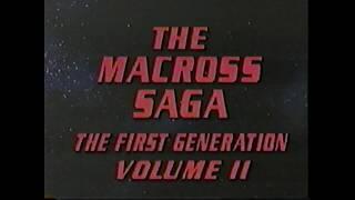Robotech - Opening & Closing Credits (VHS Capture)