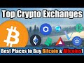 Best Crypto Exchanges To Buy Bitcoin & Trade ...