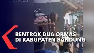 Korban Bentrok Antar Ormas di Bandung Dimakamkan