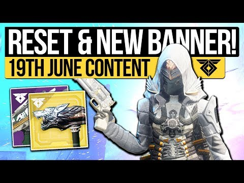 Destiny 2 | IRON BANNER & WEEKLY RESET! Nightfall, New Weapons & Eververse Bundle Bug! (19th June) thumbnail