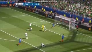 Franciaország 2-1 Írország: Griezmann 2. gól