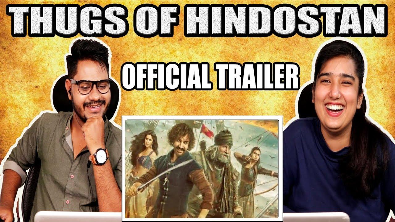 Download Reaction On Thugs Of Hindostan - Official Trailer ¦ Amitabh Bachchan ¦ Aamir Khan ¦ Katrina Kaif