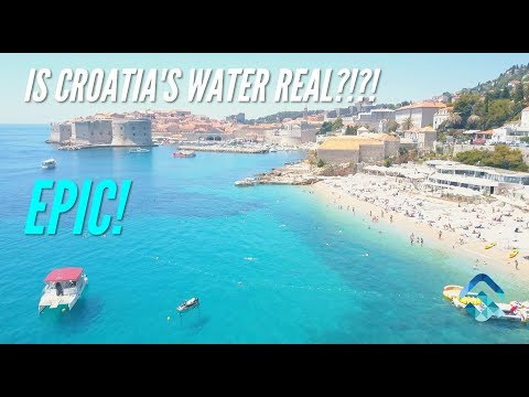 Croatia Waters From a DJI Mavic Drone Are EPIC!!
