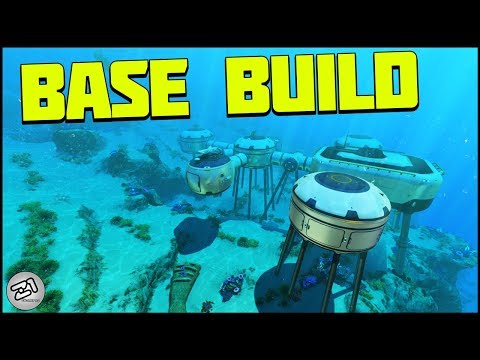 Subnautica Base BUILDING ! Scanner Room, Moonpool, Bio Reactor and MORE! E5 | Z1 Gaming