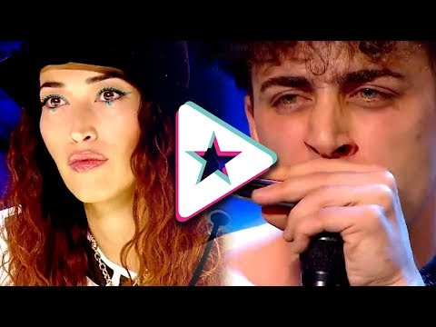 WOW! Harmonica Player From Italy's Got Talent Has Audience GOING CRAZY!