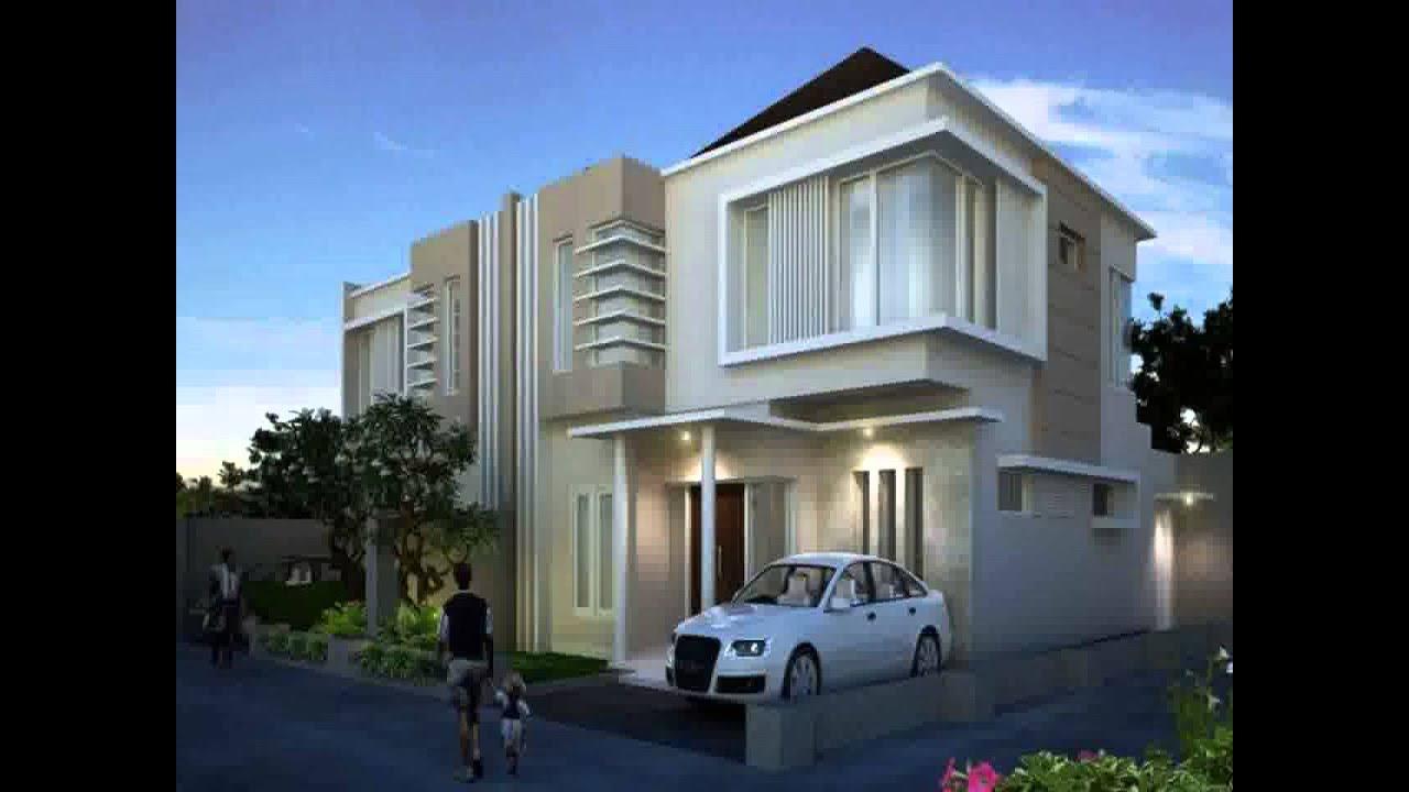 Desain Rumah Minimalis Hook 2 Lantai Yg Sedang Trend Saat Ini Youtube