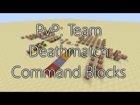Minecraft: PvP Team Deathmatch Command Block Setup