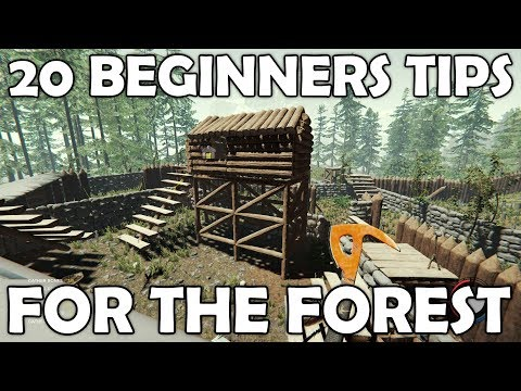 20 Beginners Tips for The Forest | Survival Game Guide