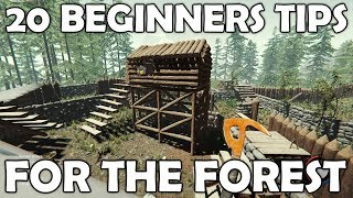 20 Beginners Tips for The Forest | Survival Game Guide Thumb