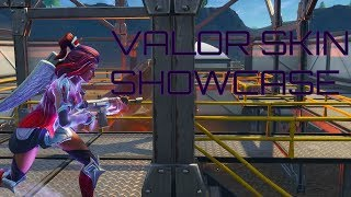 Valor Skin Showcase (FORTNITE SEASON 4)