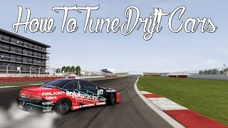 how to tune a drift car   forza motorsport 6