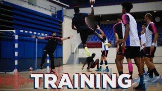 Deux séances de handball au programme