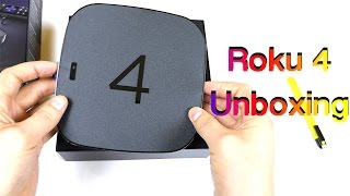 Unboxing Roku 4 Streaming Player