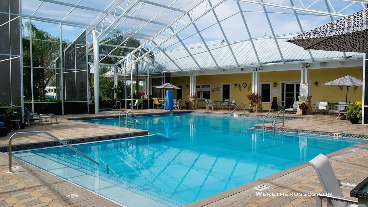 Lazydays Rv Resort Review Rving In Tampa Fl Youtube