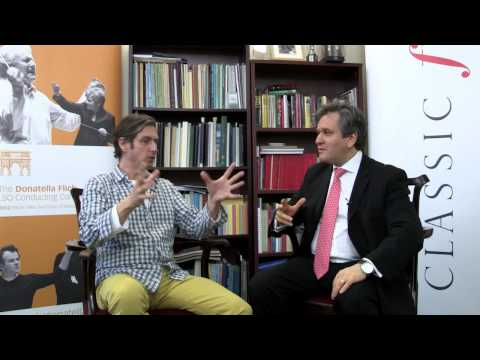 Classic FM speaks to Antonio Pappano