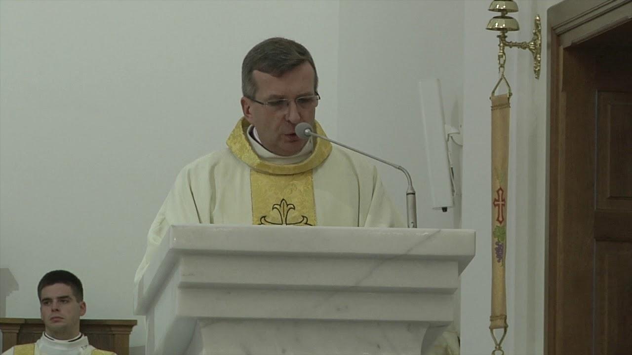 Ks. prof. K. Warchałowski: Przyjmujecie sutannę – znak Chrystusowego kapłaństwa