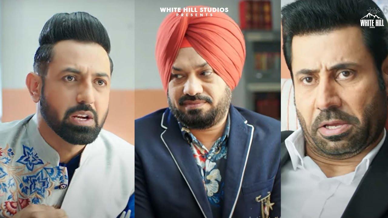 Binnu Dhillon | Gippy Grewal | Gurpreet Ghuggi | Punjabi Comedy | Punjabi Comedy Movies |Funny Scene