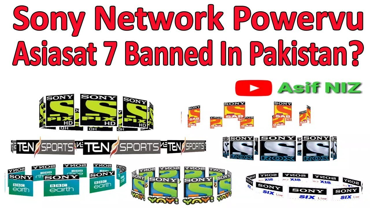 Sony network Powervu Asiasat 7 banned in Pakistan ? - YoutubeDownload pro
