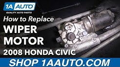 How to Replace Wiper Transmission Motor 05-11 Honda Civic