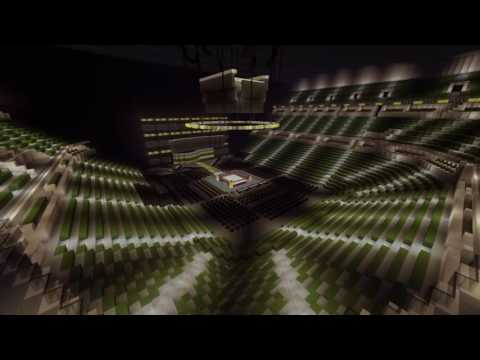WWE Clash Of Champions 2016 Stage And Arena ( Bankers Life Fieldhouse )