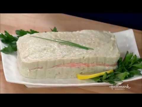 Fresh Salmon Gefilte Fish Loaf   Video Hallmark Channel