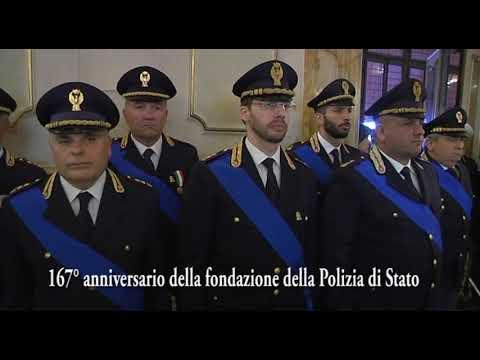 Primo Piano - 167° Anniversario Fondazione Polizia di Stato