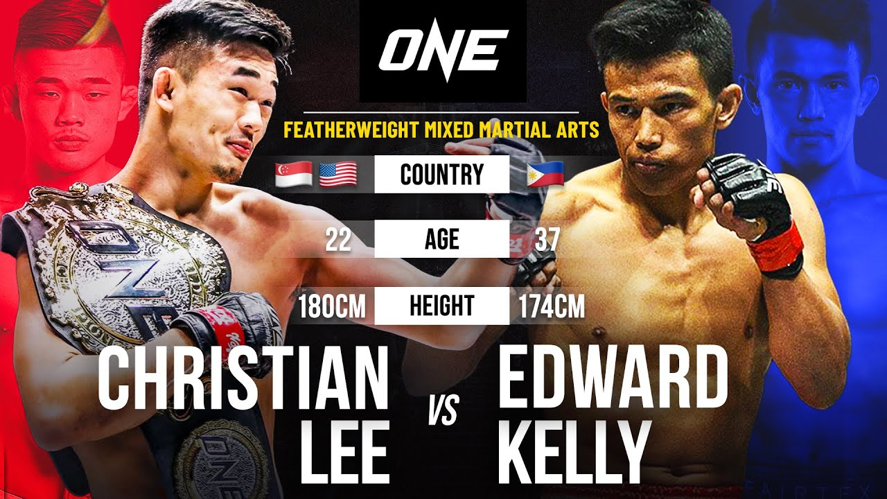 Christian Lee vs. Edward Kelly | Full Fight Replay