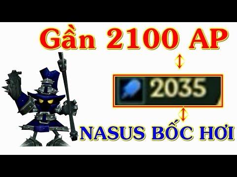 Veigar Gần 2100 AP Nasus Full Tank Còn Phải Bốc Hơi   Trâu Best Udyr