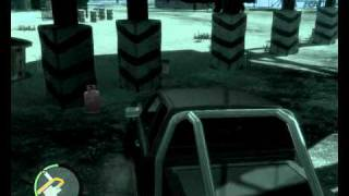 Grand Theft Auto IV Gameplay 6 on HD 4850