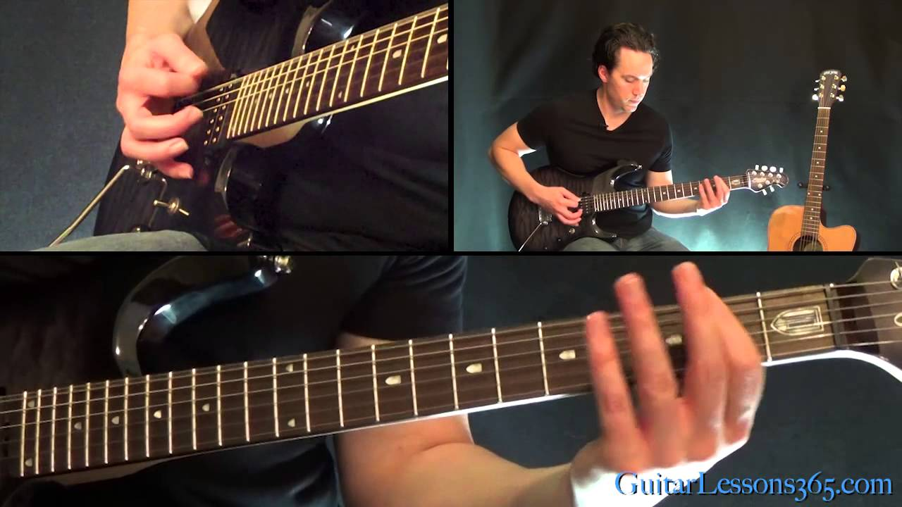how to play who rings the bell on guitar