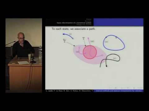 Combinaison des méthodes ensemblistes avec l'interprétation abstraite pour la robotique