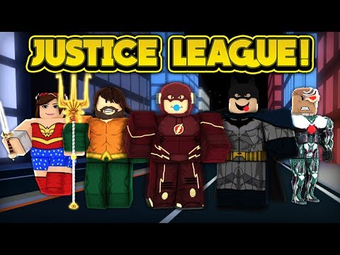 THE JUSTICE LEAGUE IN JAILBREAK! (ROBLOX Jailbreak)
