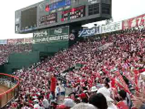 Baseball Game in Hiroshima
