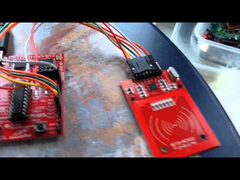 RFID Reader working on Texas Instruments MSP430 through SPI interface