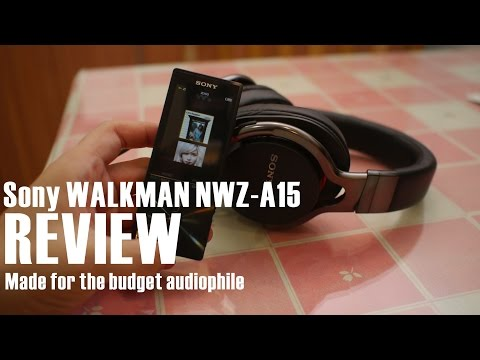 Sony Walkman NWZA15 Review: A Music Player for the Budget Audiophile