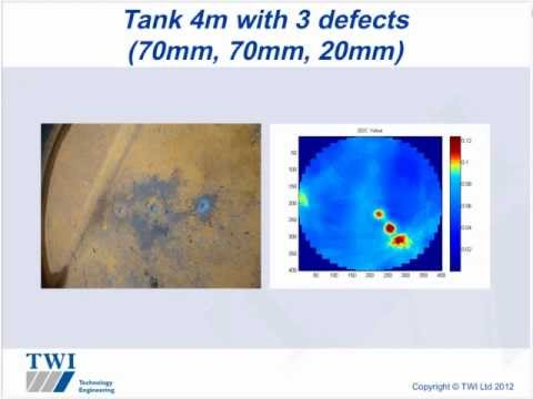 Non-invasive tank integrity monitoring using ultrasonic guided waves