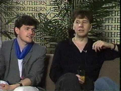 Sounds: Donnie interviewing Simple Minds (1983)