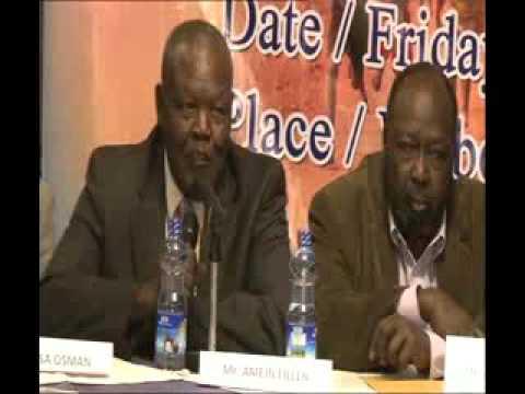 Press Conference : Nuba Mountains Leaders In Diaspora.