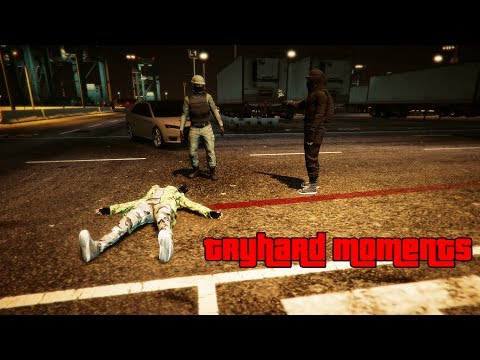 GTA 5 Tryhard Moments #5 (Rage,Funny Moments Compilation)