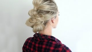 Bubble Updo | Cute Girls Hairstyles