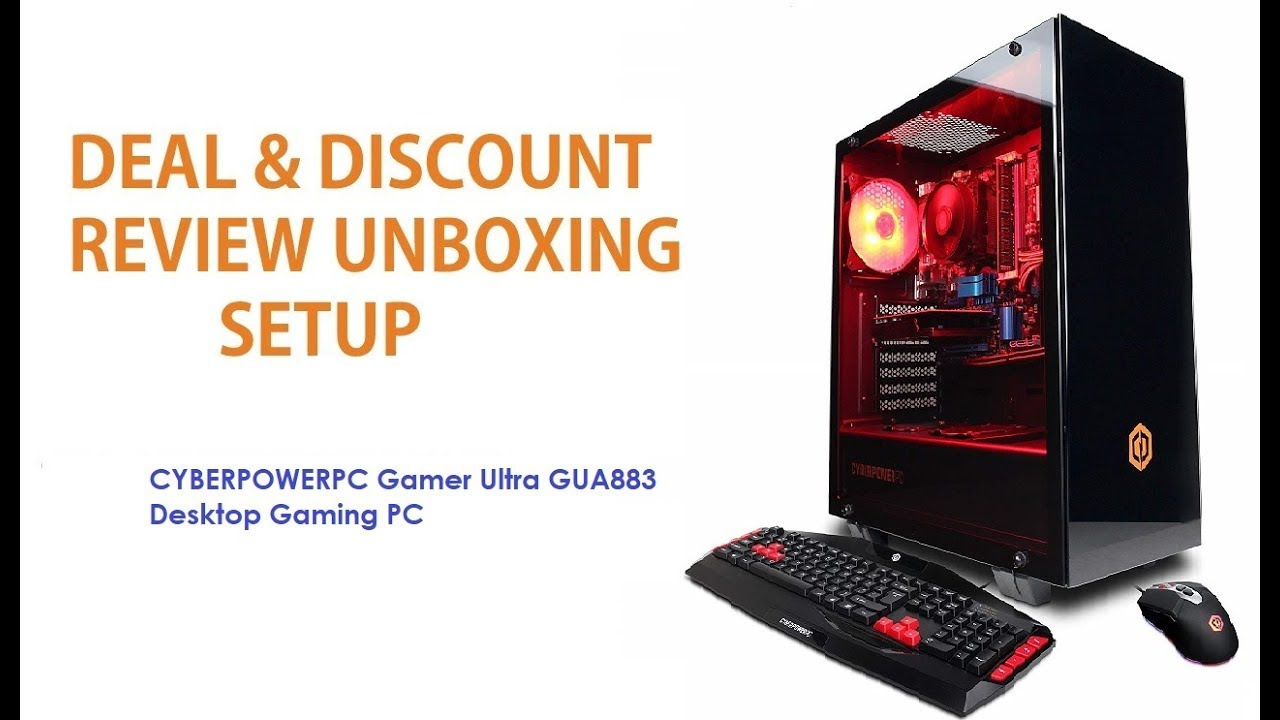 Cyberpowerpc Review 2020.Cyberpowerpc Gamer Ultra Gua883 Desktop Gaming Pc Review Discount Unboxin Setup
