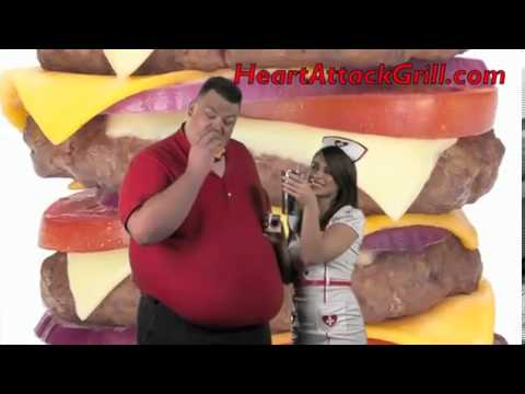 Heart Attack Grill commercial featuring Blair River who died in 2011