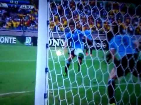 Frederico Chaves Guedes Goals Brezilya Uruguay 1-0 26.06.2013